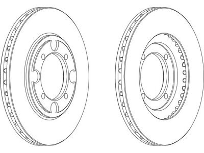 Prednji kočioni diskovi S71-0332 - Hyundai Lantra 90-00