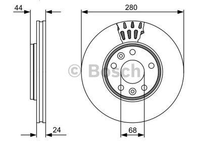 Prednji zavorni diski BS0986479C62 - Dacia Duster 10-