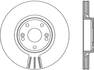 Prednji zavorni diski S71-0037 - Renault
