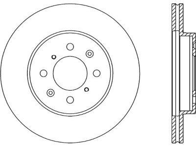 Prednji zavorni diski S71-0111S - Honda Civic 87-05