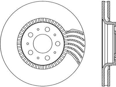 Prednji zavorni diski S71-0132 - Volvo