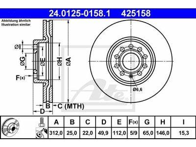 Prednji zavorni diski - Seat Leon 05-
