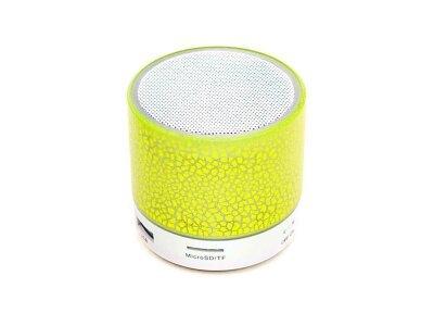 Prenosni Bluetooth zvočnik, svetlobni učinek, rumen