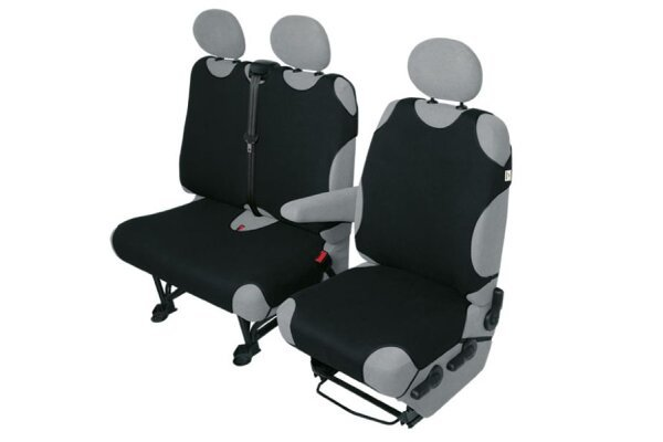 Presvlaka sjedala Van Deliveryy 1+2 komada, crna