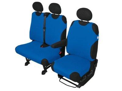 Presvlaka sjedala Van Deliveryy 1+2 komada, plava