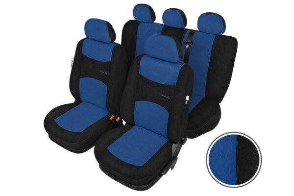 Presvlaka za sedište Kegel, L Super AirBag, komplet, plava