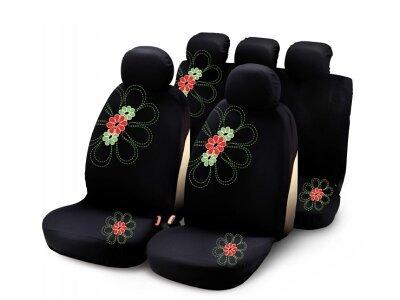 Presvlaka za sjedalo Bottari, crna/crvena, 103325