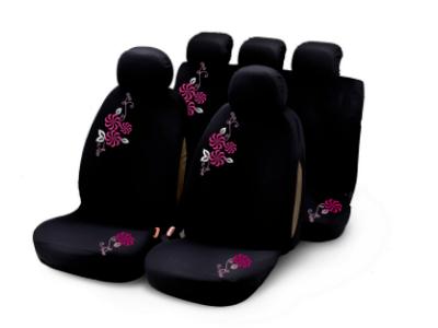 Presvlake sjedala Bottari, komplet, roza cvijeće