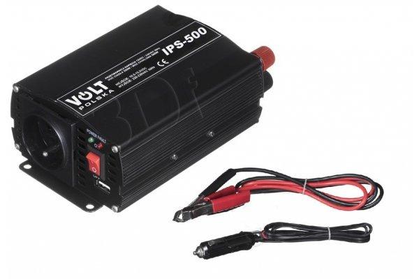 Pretvarač Volt Polska IPS 500 12/230V USB POW