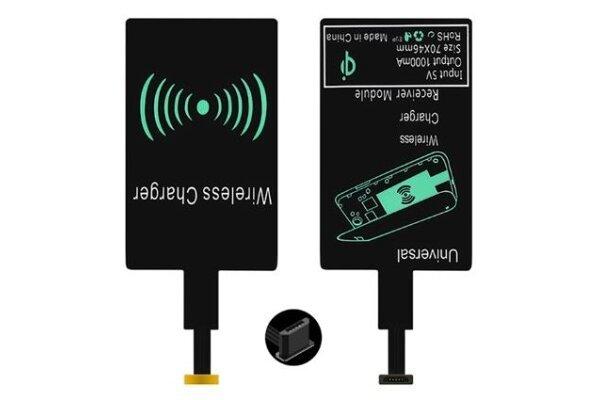 Prijemnik za bežično punjenje, micro USB, tip A