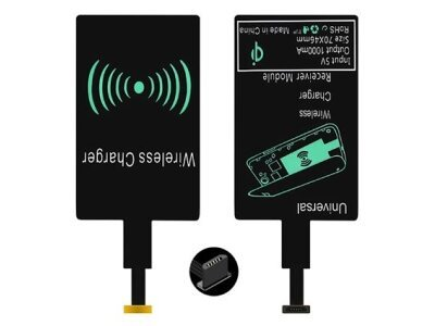 Prijemnik za bežično punjenje, micro USB, tip B