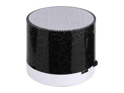 Prijenosni Bluetooth zvučnik, svjetlosni efekt, crni