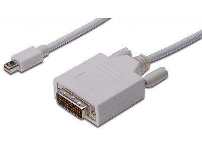 Priključni video kabel Assmann, miniDisplayPort/DVI-D, 2m