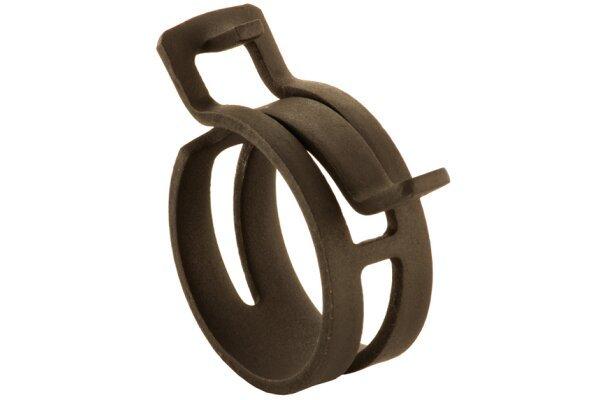 Pritrdilna objemka (samozatezna) DIN3021 17 W1, 17 mm, 10 kosov