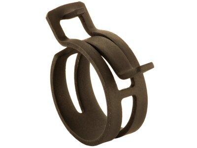Pritrdilna objemka (samozatezna) DIN3021 21 W1, 21 mm, 10 kosov