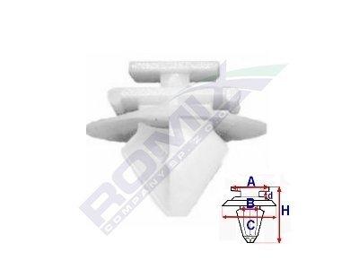 Pritrdilna sponka Citroen/Peugeot/Renault RX12409 10 kosov