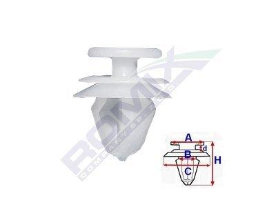 Pritrdilna sponka Citroen/Peugeot/Renault RXC10091 10 kosov