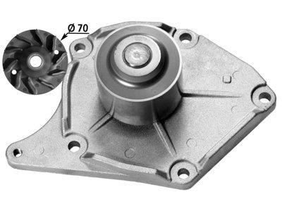 Pumpa za vodu 130178 - Dacia, Nissan, Renault