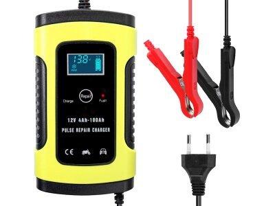 Punjač i održavač akumulatora 12V, 5A, 100 - 240 V AC, 50/60 Hz