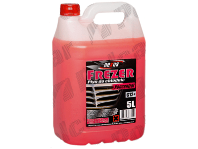 Rashladna tečnost (koncentrat / crvena) 5 L