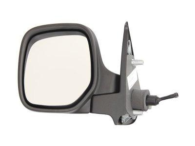 Retrovizor Citroen, Peugeot, ručno pomeranje, negrejano, kućište za lakiranje