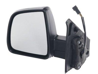 Retrovizor Fiat Doblo 10-, ručno pomicanje, crno kućište, 2 pinski