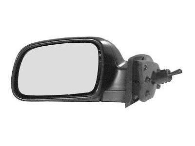 Retrovizor Peugeot 307 01- ručno preklopiv/crni