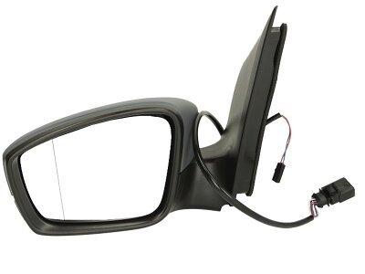 Retrovizor Seat MII 12-, električno pomeranje, crno kućište, 9 pinova