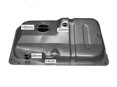 Rezervoar goriva Ford Fiesta 96-99