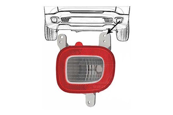 Rikverc svetlo Jeep Renegade 14-
