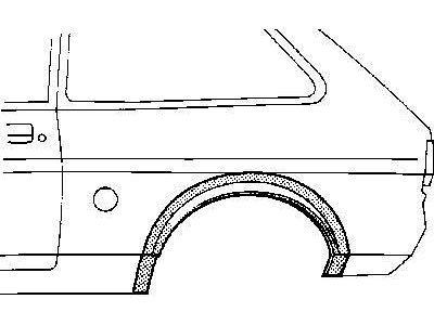 Rob boka Ford Fiesta 83-89