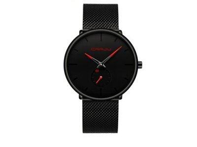 Ročna ura  JU-01-2150, elegantna, Rdeča