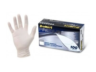 Rokavice Bottari, lateks, velikost M
