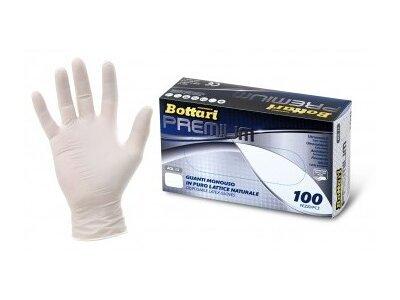 Rokavice Bottari, lateks, velikost S