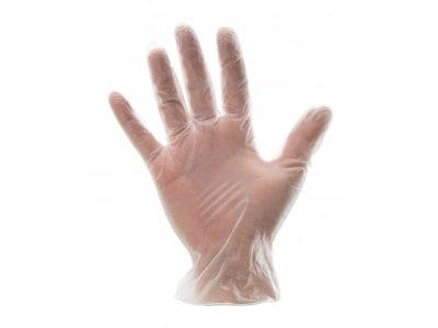Rokavice Bottari, polivinil, prozorne