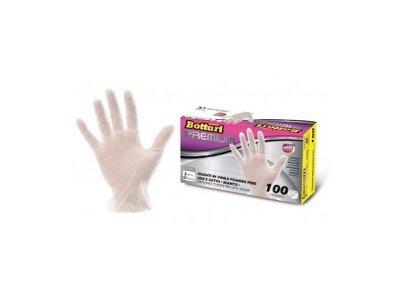 Rokavice Bottari, polivinil, velikost L