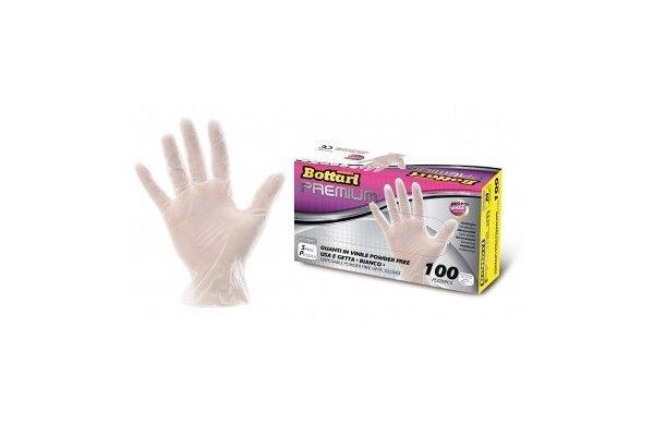 Rokavice Bottari, polivinil, velikost S