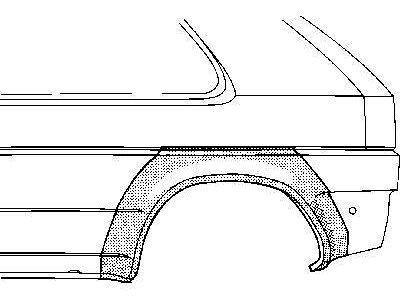 Rub blatobrana Ford Fiesta 89-95 3V
