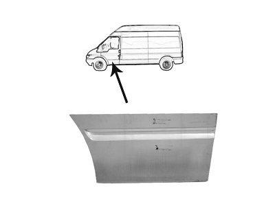 Rub prednjih vrata Ford Transit 01-