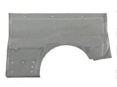Rubnjak blatobrana stražnji (duži) Opel Vivaro 01-06