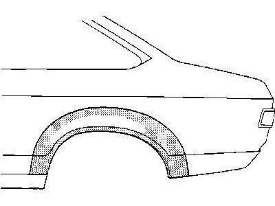 Rubnjak Ford Capri 74-