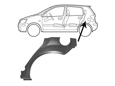Rubnjak (stražnji) Hyundai Getz 02- 5 vrata