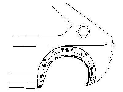 Rubnjak (stražnji) VW Polo 81-
