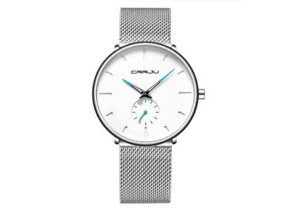 Ručni sat JU-01-2150, elegantan, White