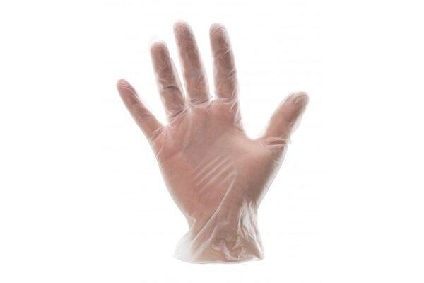 Rukavice Bottari, najlon, prozirne