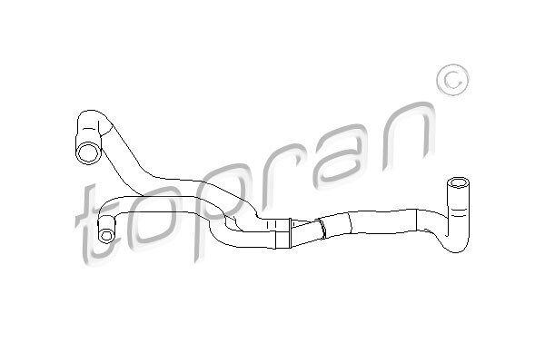Savitljiva cijev odušnika Peugeot 406 95-04 1.6