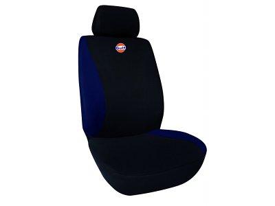 Sedežna prevleka GULF, črna / modra
