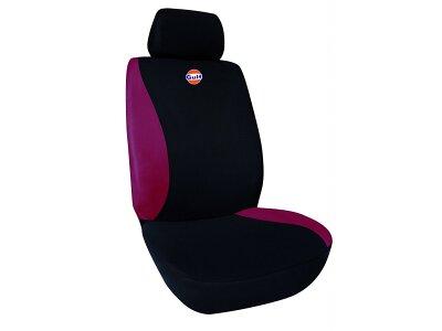 Sedežna prevleka GULF, črna / rdeča