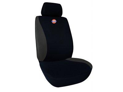 Sedežna prevleka GULF, črna / siva