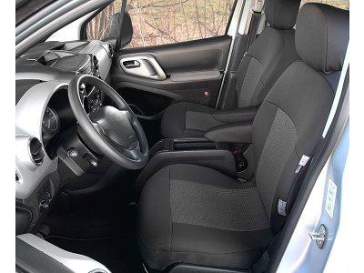 Sedežna prevleka Kegel Peugeot Partner Tepee, spredaj